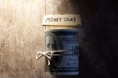 Money talks Stock Photography