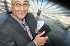 Money talks Stock Image