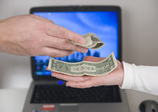 Money talks Stock Photos