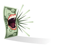 Money Talks stock illustration