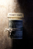 Money talks Royalty Free Stock Images
