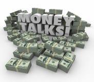 Money Talks Power Influence Financial Wealth Assets Stock Image