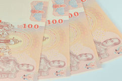 Money thai 100 baht Stock Images