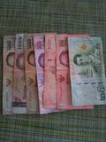 Money of Thailand royalty free stock image