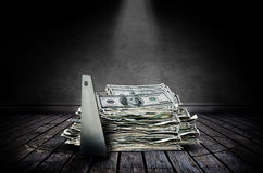 Money theft Royalty Free Stock Photo