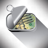 Money is tight Stock Images
