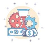 money time Стоковое Изображение