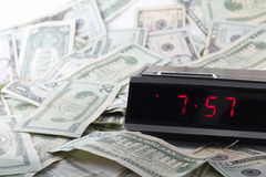 Money and Time Stock Photography