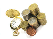 Money and time Stock Photos