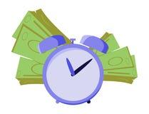 Money time Royalty Free Stock Photos
