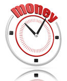 Money time  (clipping path included) Stock Photo