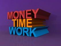 Money, time, work Royalty Free Stock Photo