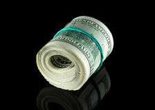 Money to American dollars Stock Photography