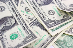 Money to American dollars Royalty Free Stock Image