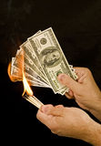 Money to Burn 1 Stock Photography