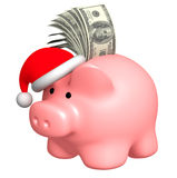 Money to Christmas Stock Photos