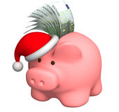 Money to Christmas Stock Image