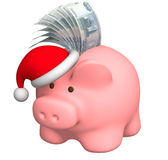Money to Christmas Royalty Free Stock Image