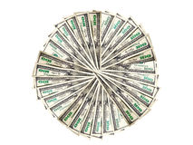 Money to form a circle Stock Images