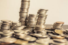 Money tower Royalty Free Stock Photos