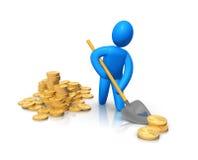 Money transfer Royalty Free Stock Image
