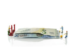 Money transport Royalty Free Stock Images