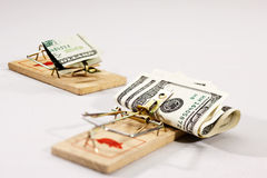 Money trap Stock Images