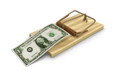 Money trap Royalty Free Stock Photo