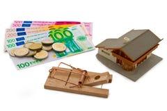Money trap Royalty Free Stock Image