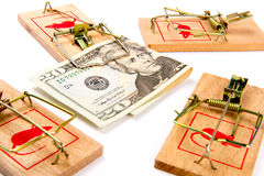 Money Trap! Royalty Free Stock Images