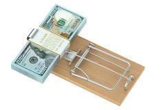 Money Trap Stock Photo
