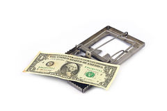 Money trap Royalty Free Stock Photos