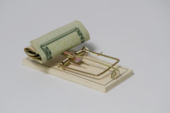Money Trap Royalty Free Stock Images