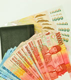 Money for travel. Royalty Free Stock Photo