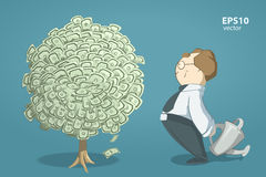 Money tree royalty free illustration