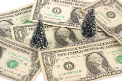 Money and trees Stock Photos