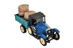 Money in the truck Stock Photos