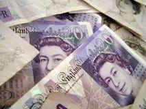 money uk Στοκ Φωτογραφία