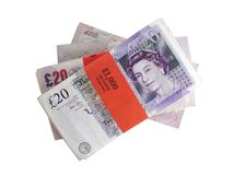 money uk Στοκ Εικόνες