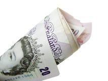 money uk Στοκ φωτογραφία με δικαίωμα ελεύθερης χρήσης