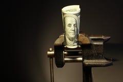 Money Under Pressure Stock Photos