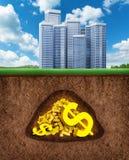 Money underground Stock Photo