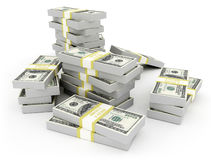 Money US currency Stock Photos