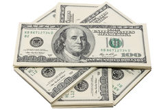 Money in USA, Dollar. The measure of money in USA Stock Images