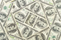 Money usa. Seamless pattern of banknotes, paper money usa Stock Images