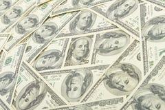 Money usa. Seamless pattern of banknotes, paper money usa Royalty Free Stock Photos