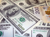 Money usd pln Stock Images