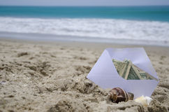 Money for vacation Royalty Free Stock Photo