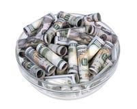 Money in a vase Stock Photos