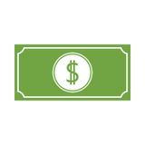 Money vector icon. Simple vector icon stock illustration